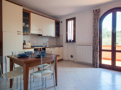 Photo for Ansonica - Bright two-room apartment with swimming pool in Suvereto