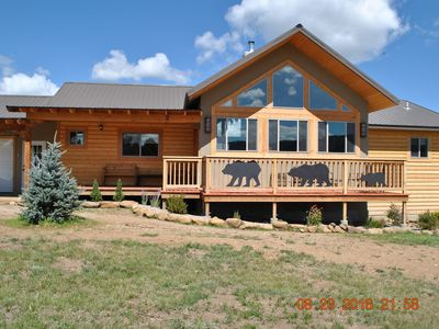 Photo for Two Yr. old and new rates for this  home in the Angel Fire Country Club