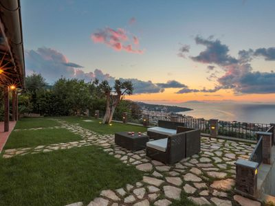 Photo for New Luxury Villa with breathtaking view with swimming pool, private parking, BBQ area wifi & AC