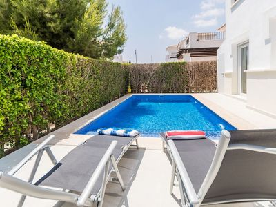 Photo for 2 bedroom villa with pool and Jacuzzi La Torre Golf Resort Murcia Vacations PO5