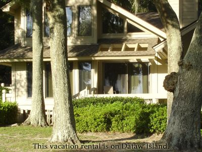 Photo for Two bedroom Villa located on Dataw Island. All amenites are at that location, not on Fripp Island.