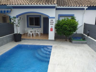 Photo for Casa Ana, close to the beach, family friendly, pets allowed, air conditioning, wifi, 2 bathrooms