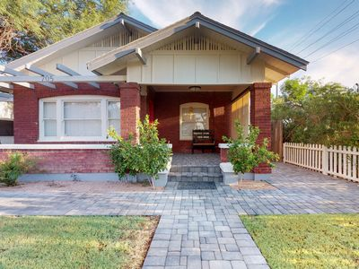 Photo for NEW LISTING! Sunny bungalow w/ outdoor gazebo, free WiFi, and a Ping-Pong table