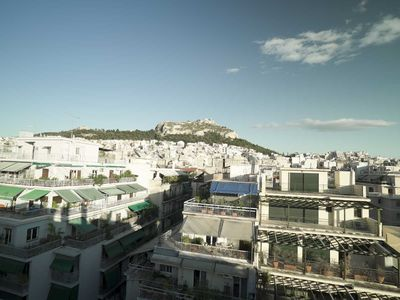 Photo for 1AA66 Rooftop Infinite Athens View Apt, Exarchia Central Athens