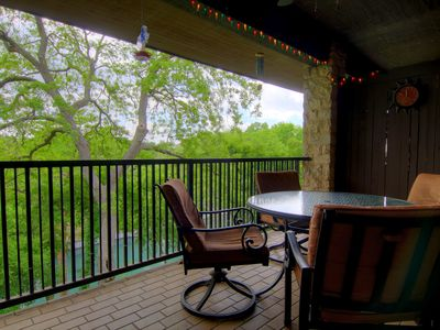 Photo for Delroy's Curly Ray's Comal Condo! You will be Wowed! Epic views!!