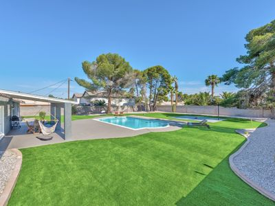 Photo for 0.57 acre 2950sf 5BR 7min to strip 5min to Convention center very large pool!!!