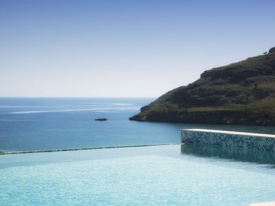 Photo for Luxury Villa Panorama with private infinity pool