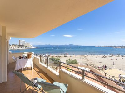 Photo for Apartment for 6 persons with sea view, and a private parking