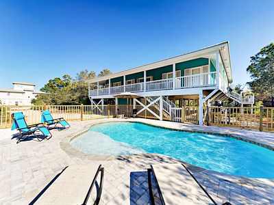 Photo for Sunny 4BR w/ Spacious Balcony, 2 Blocks to Beach, Pool Coming Spring 2018