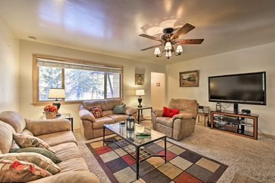 Wrap up in all of the comforts of home in this Fawnskin vacation rental!