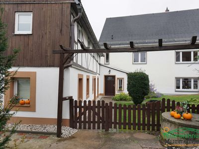 Photo for Apartment Murmelbau right on the bike path trough in Rochlitz OT Zaßnitz
