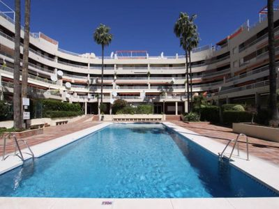 Photo for Marbella center with swimming pools, and beach 2 min walk Marbella center with p