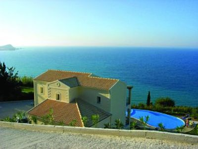Photo for Stunning frontline Villa with infinity Pool and Amazing Sea Views
