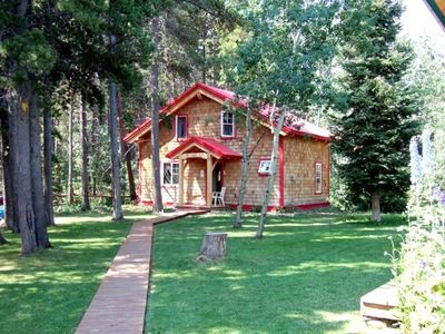 Photo for Timber Frame Guest Cottage