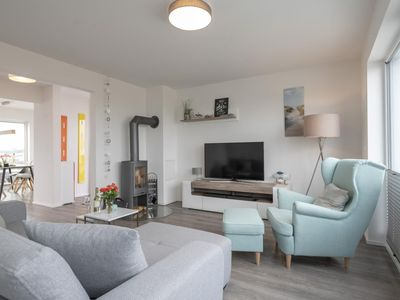 Photo for Spacious maisonette holiday property in the first row to the water - all day sun - panoramic water view - two terraces - woodburning stove, sauna and whirlpool tub