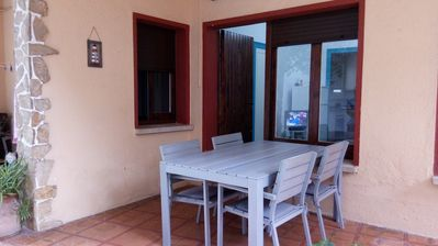 Photo for 2 bedroom apartment, centrally located 2 blocks from the beach, with outdoor space