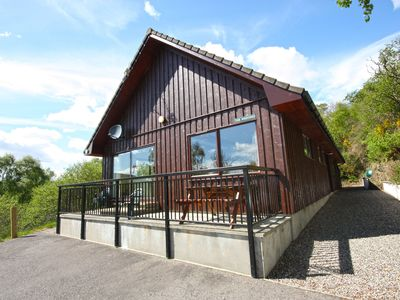 Photo for Loch Ness country lodge with great views