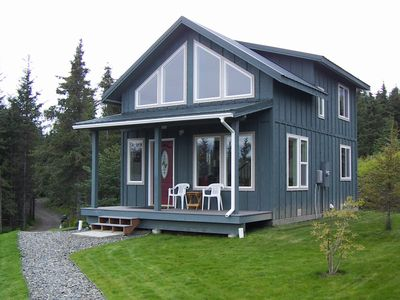 Photo for Moose Den Highliner House Cottage High Atop West Hill, Amazing View!