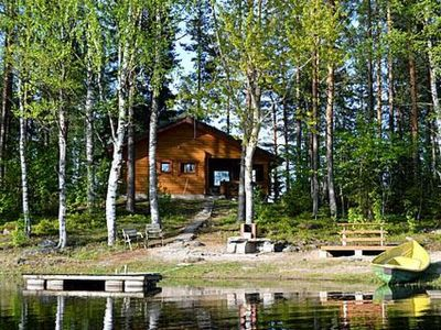 Photo for Vacation home Rinnepelto lomamökit 3 in Nilsiä - 6 persons, 2 bedrooms