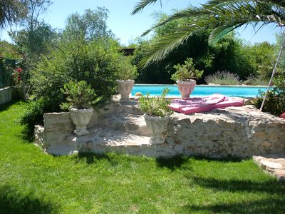 Photo for rent adorable studio camarguais in small mas atypical