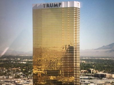 Shiny Golden Trump Tower