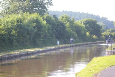 Have a walk along the canal to the lock