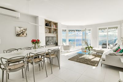 Luxurious penthouse apartment renovated to a very high standard