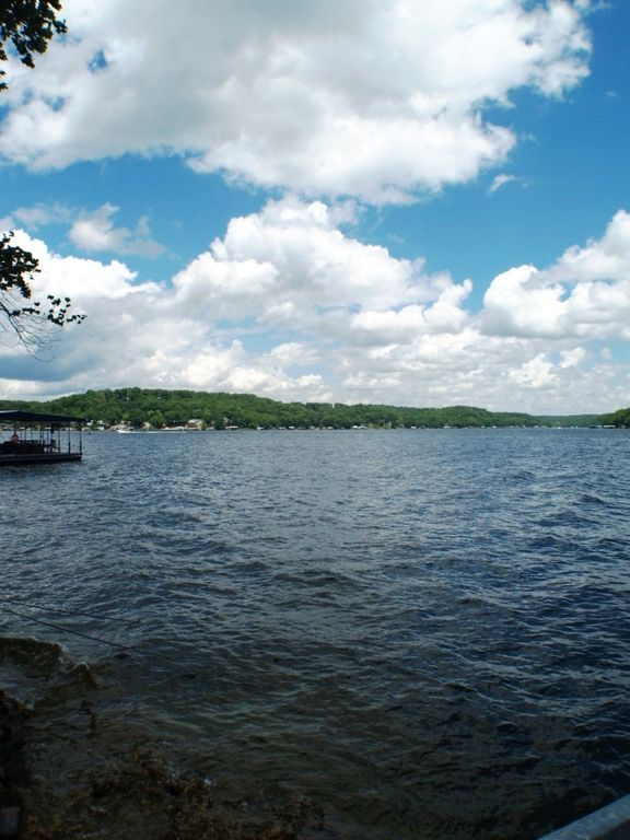 2 br 2 ba lake front with private dock big view for Lake front view