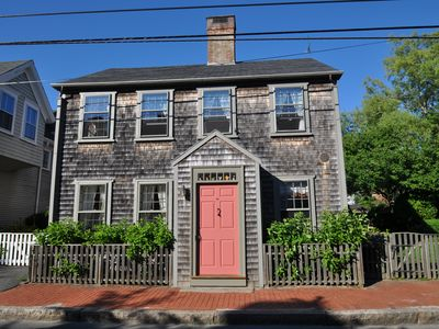An elegant jewel-box on one of Nantucket's most beautiful streets.