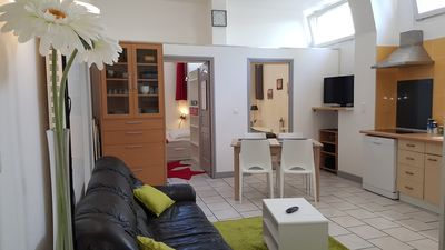 Photo for Ageable 3 bedroom loft 2 steps from the factory outlets
