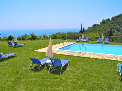 """Photo for Apartments with pool """"adonis"""" in Pelekas Beach Corfu"""