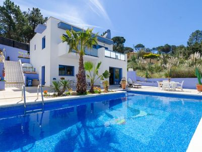 Photo for Club Villamar - This spacious holiday villa in a quiet location, with private swimming pool, love...