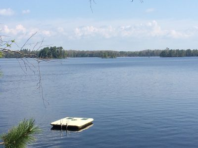 Photo for Classic Wisconsin up-north cottage on the premier Manitowish Chain of Lakes.