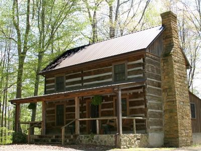 Photo for The Cheat is a historic cabin with modern ammenties