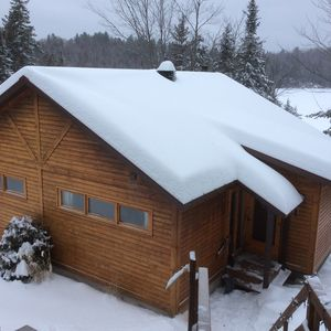 Photo for Cottage for rent for the winter season 1 hour from Montreal. $ 4,500 all inclusive.