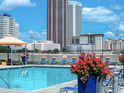 Photo for Rooftop Pool Condo, Heart of Downtown Atlanta, Free Parking