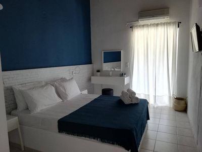 Photo for Only a 5min walk from Achladies Beach our cozy rooms are waiting to welcome you!