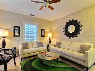 """Photo for Rest Well with Southern Belle Vacation Rentals at """"Forsyth Park Carriage"""""""
