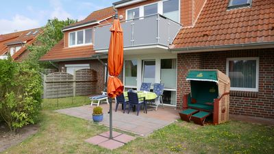 Photo for Apartment Mara (ground floor) - 1000m from the North Sea beach Harlesiel
