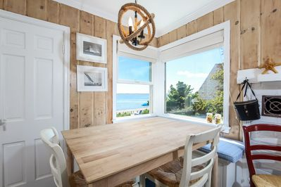 Dining Area with gorgeous bay views