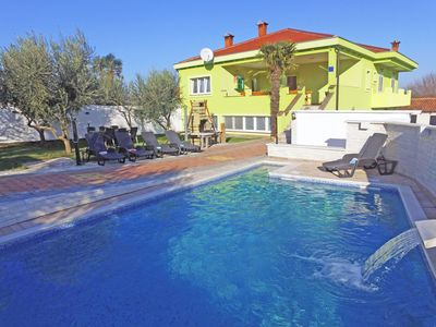 Photo for This 4-bedroom villa for up to 8 guests is located in Sveti Filip i Jakov  and has a private swimmin