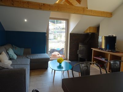 Photo for Gerardmer Apartment 70m2 new, free Wifi.