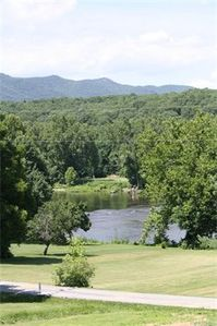 View of River from Front Screened in Porch