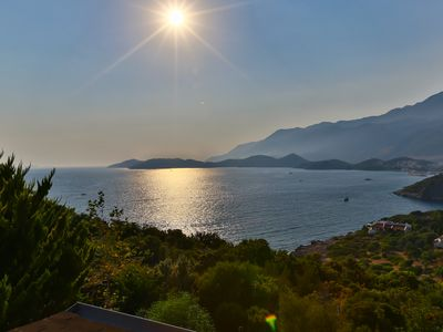 Photo for Kas Holiday Rental with Stunning Sea View and Swimming Pool ( 6 people )