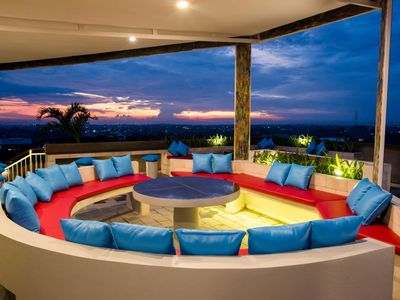 Photo for Comfy Room in Canggu, Rooftop with 360 Degree of Canggu View