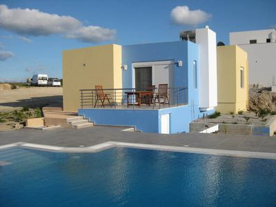 Photo for Dream villa with private pool in Kos / Greece, sea view for 4 people