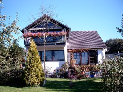 Photo for Idyllic, spacious mansard apartment for nature lovers in the Sauerland
