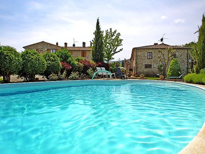 Photo for 2 bedroom Villa, sleeps 4 in Ciggiano with Pool and WiFi
