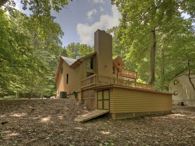 Photo for Great cabin with a flat lot directly on the beautiful Coosawattee River