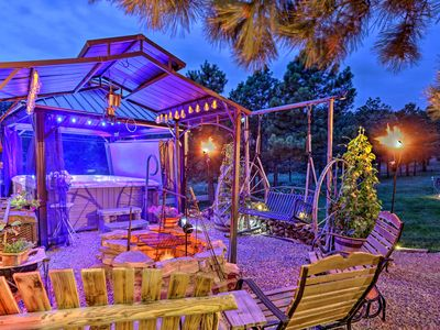 Photo for Hermosa Ground-Lvl Home w/5 Acres, Patio & Hot Tub